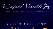 Ad poster for the 'Enfant Terrible' bar, Paris