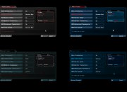 Some of the new GUI colors