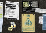 Bulletin board texture for UNATCO HQ