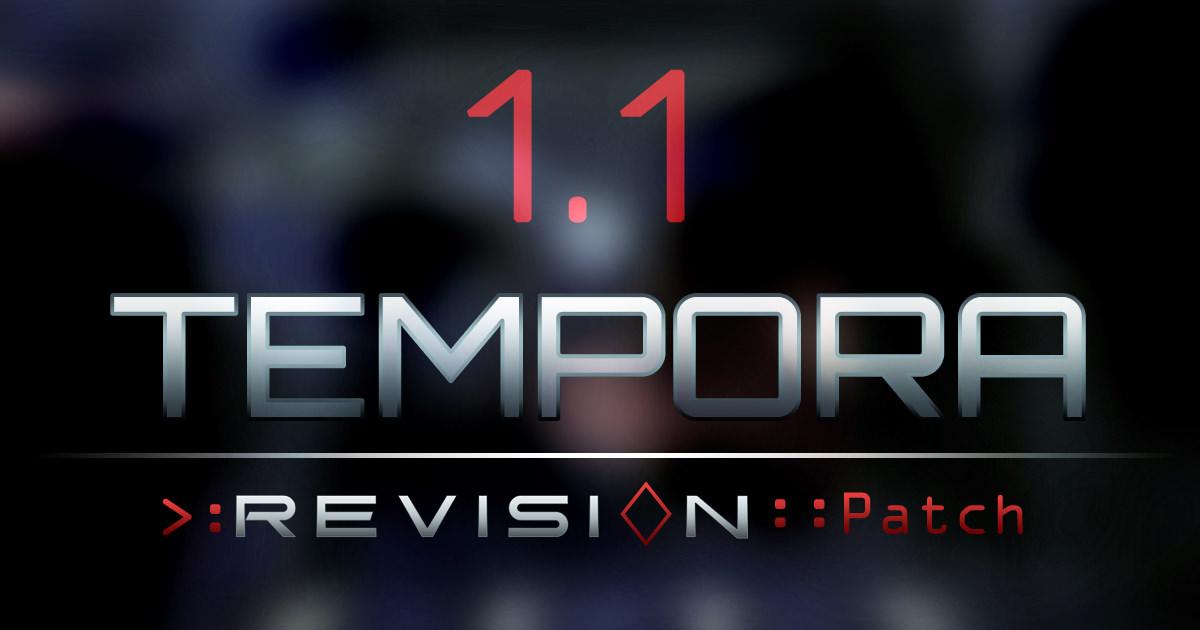Deus Ex: Revision Patch 1.1 Tempora is live