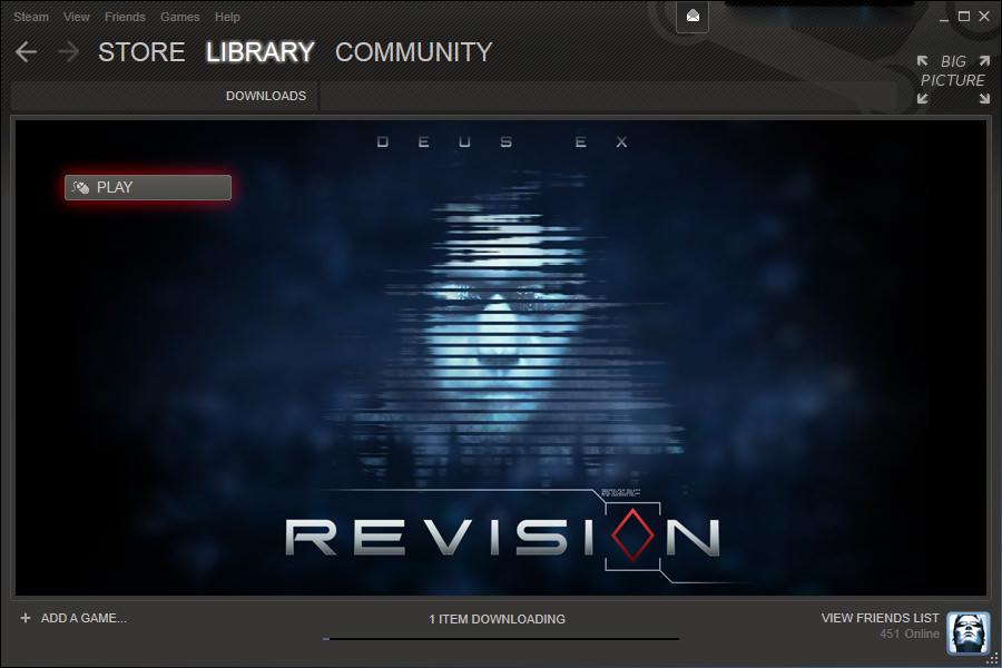 Revision on Steam!